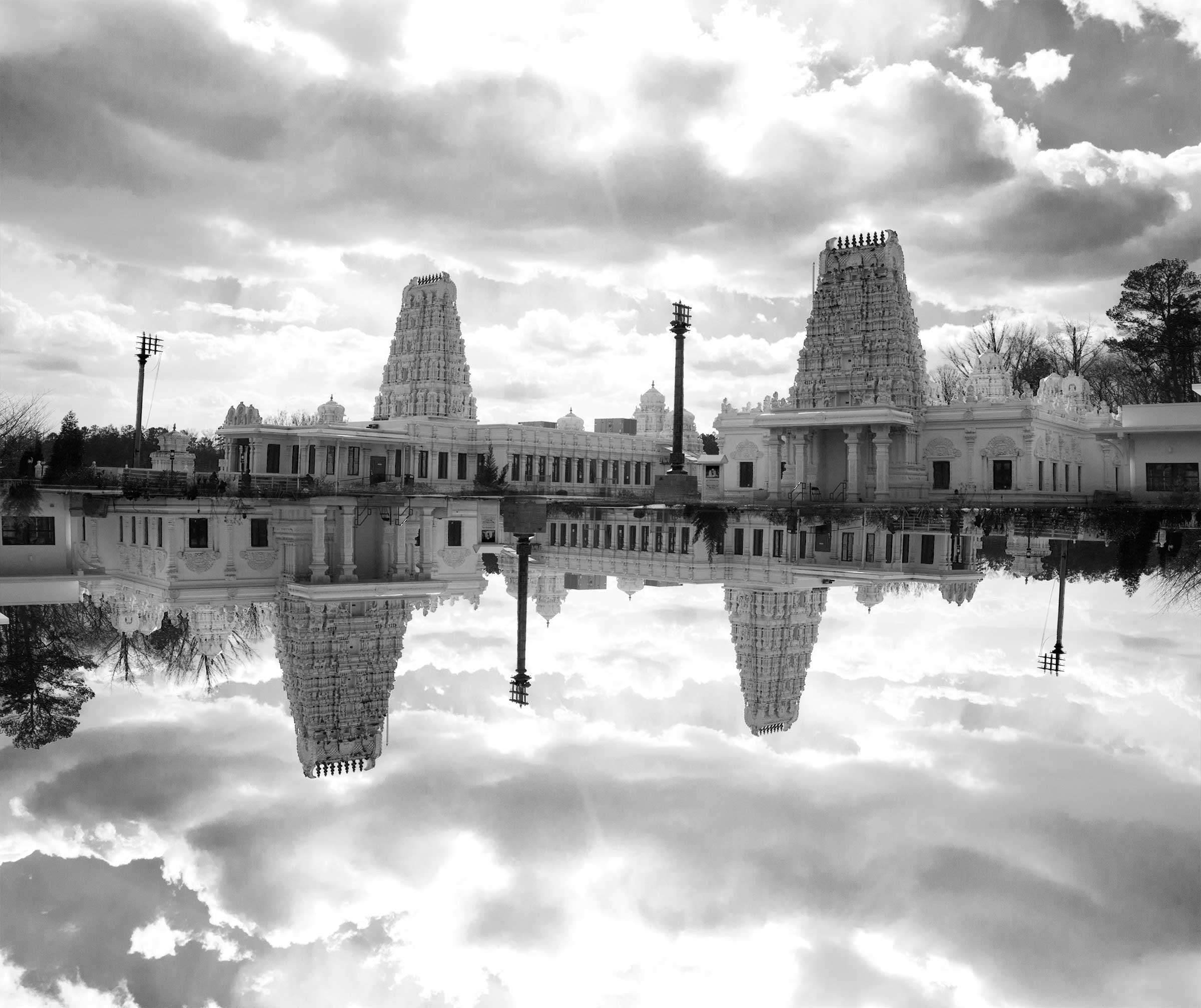 Temple-Black-and-white