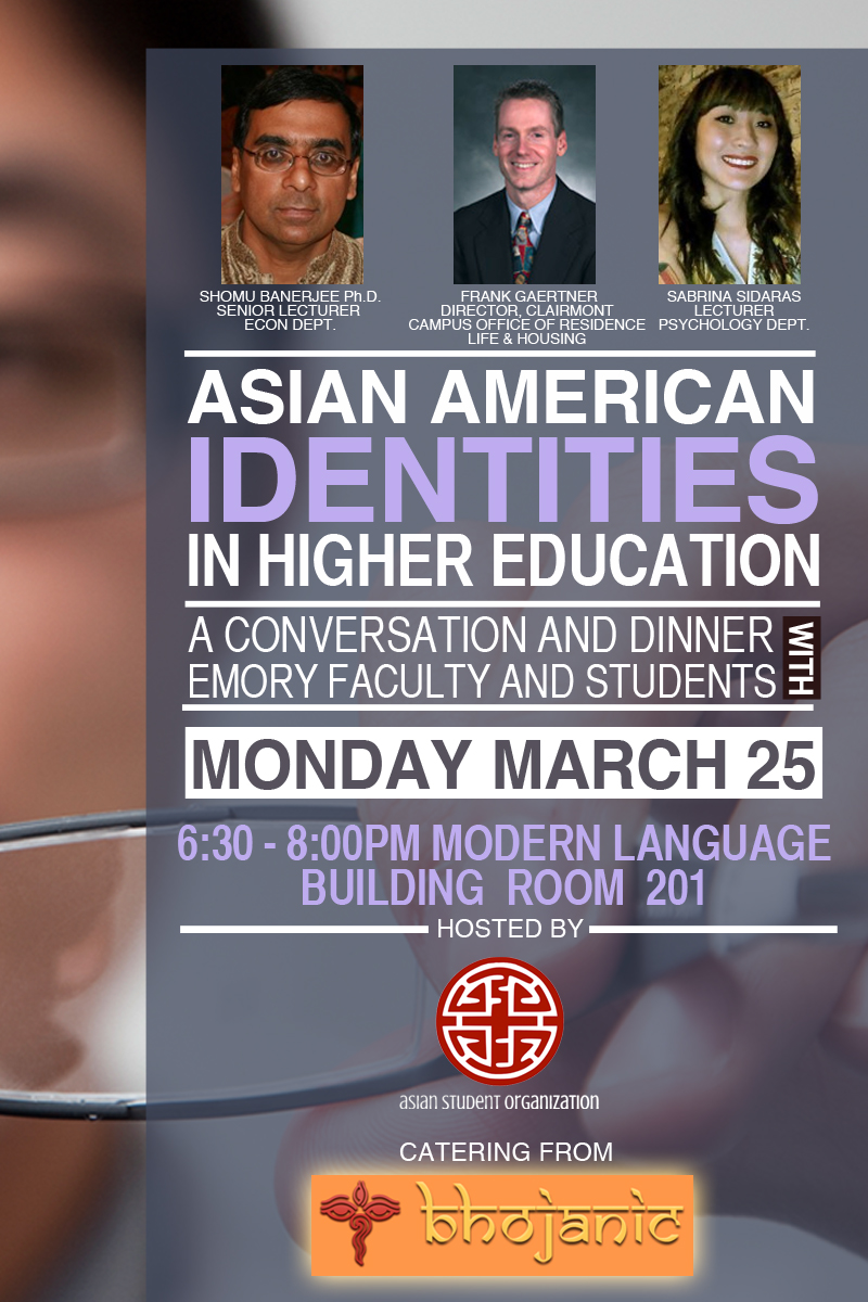 asians in higher education table tents