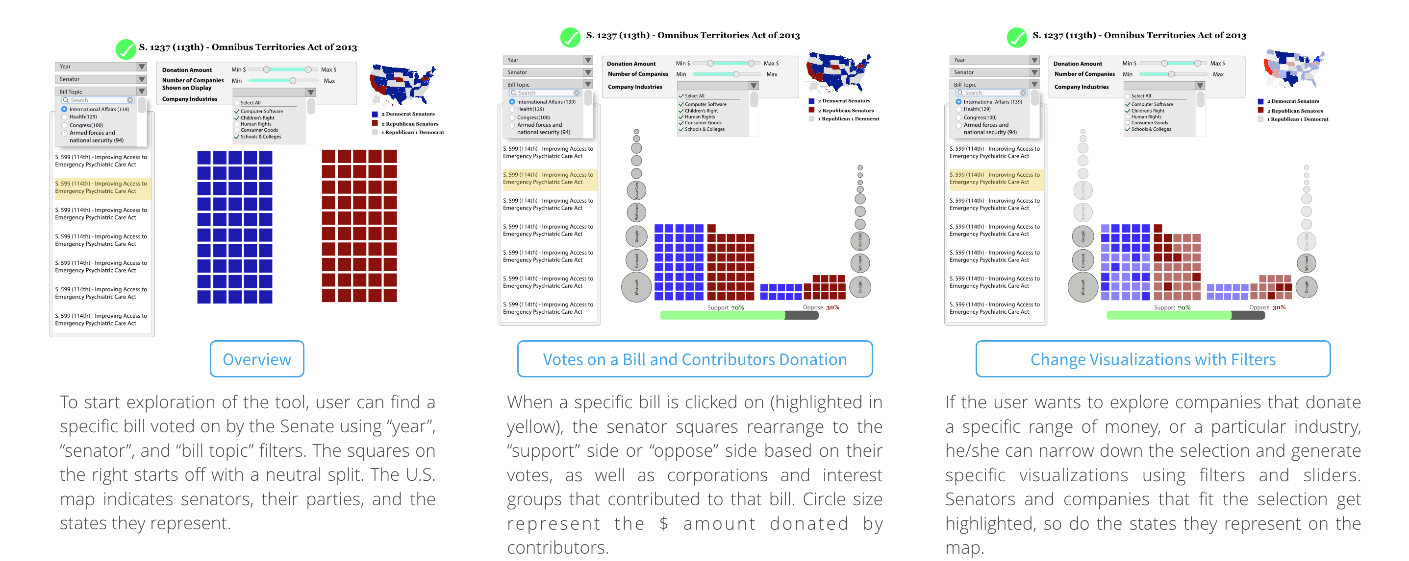 money in the us senate high fidelity mock up bill centered view